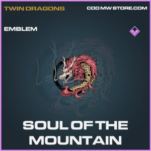 Soul of the mountain epic emblem call of duty modern warfare warzone item