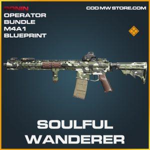 Soulful Wanderer M4A1 skin legendary blueprint call of duty modern warfare warzone item