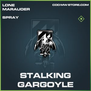 Stalking Gargoyle spray common call of duty modern warfare warzone item