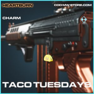 Taco Tuesdays charm rare call of duty modern warfare warzone item