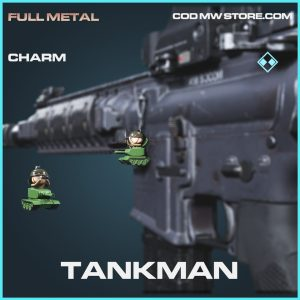 Tankman charm rare call of duty modern warfare warzone item