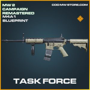 Task Force M4A1 skin legendary blueprint call of duty modern warfare warzone item