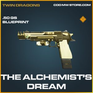 The Alchemist's Dream .50 GS skin legendary blueprint call of duty modern warfare warzone item