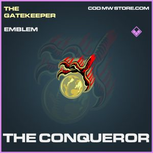The Conqueror emblem epic call of duty modern warfare warzone item