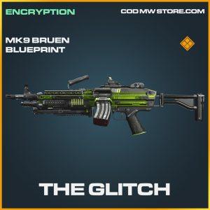 The Glitch MK9 Bruen skin legendary blueprint call of duty modern warfare warzone item