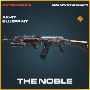 The Noble AK-47 skin legendary blueprint call of duty modern warfare warzone item