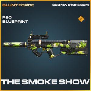The Smoke Show P90 skin legendary blueprint call of duty modern warfare warzone item