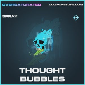 Thought Bubbles spray rare call of duty modern warfare warzone item