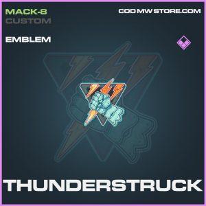 Thunderstruck emblem epic call of duty modern warfare warzone item