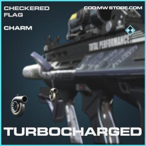 Turbocharged charm rare call of duty modern warfare warzone item