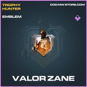 Valor Zane emblem epic call of duty modern warfare warzone item