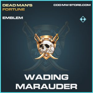 Wading Marauder emblem rare call of duty modern warfare warzone item