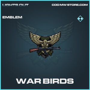 War Birds emblem call of duty modern warfare warzone item