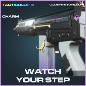 Watch your step charm epic call of duty modern warfare warzone item