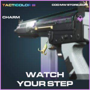 Watch your step charm epic call of duty modern warfare warzone item