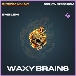 Waxy Brains emblem epic call of duty modern warfare warzone item