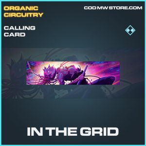 In the grid calling card epic call of duty modern warfare warzone item