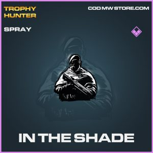 In the shade epic spray call of duty modern warfare warzone item