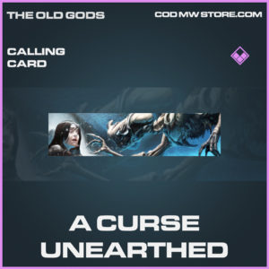 A Curse Unearthed Calling card epic call of duty modern warfare warzone item