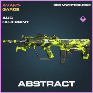 Abstract AUG blueprint epic call of duty modern warfare warzone item joker