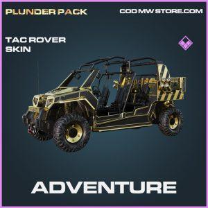 Adventure tac rover skin epic call of duty modern warfare warzone item