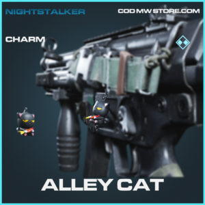 Alley Cat charm rare call of duty modern warfare warzone item