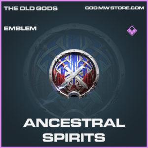Ancestral Spirits emblem epic call of duty modern warfare warzone item