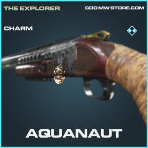 Aquanaut charm rare call of duty modern warfare warzone item