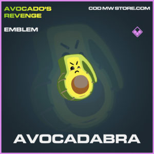 Avocadabra emblem epic call of duty modern warfare warzone item