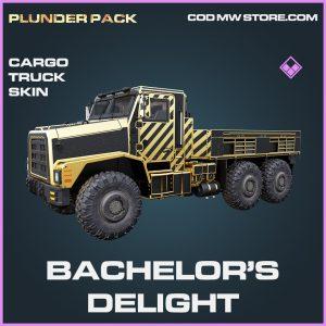 Bachelor's Delight cargo truck epic call of duty modern warfare warzone item
