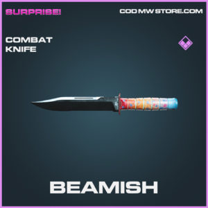 Beamish combat knife epic call of duty modern warfare warzone item