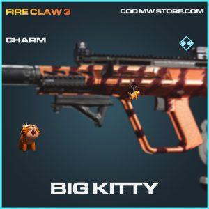 Big Kitty charm rare call of duty modern warfare warzone item