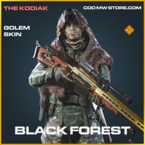 Black Forest Golem skin legendary call of duty modern warfare warzone item