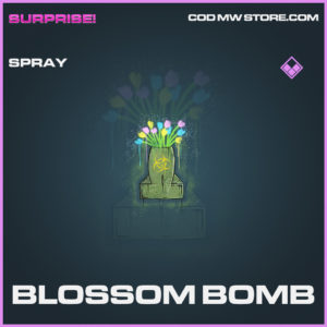 Blossom Bomb spray epic call of duty modern warfare warzone item