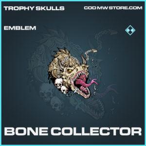 Bone Collector emblem rare call of duty modern warfare warzone item