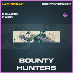 Bounty Hunters calling card epic call of duty modern warfare warzone item