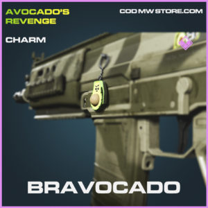Bravocado epic charm epic call of duty modern warfare warzone item