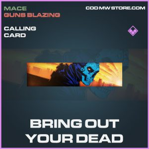 Bring out your dead calling card epic call of duty modern warfare warzone item