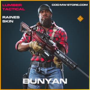 Bunyan Raines skin legendary call of duty modern warfare warzone item