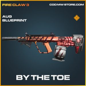 By the toe aug skin legendary blueprint call of duty modern warfare warzone item
