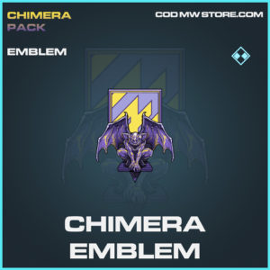 Chimera emblem rare rare call of duty modern warfare warzone item