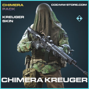 Chimera Kreuger skin rare call of duty modern warfare warzone item