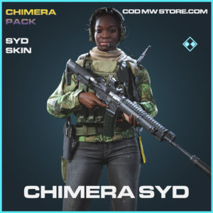 Chimera syd skin rare call of duty modern warfare warzone item