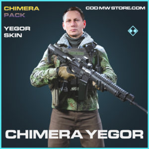Chimera yegor skin rare call of duty modern warfare warzone item