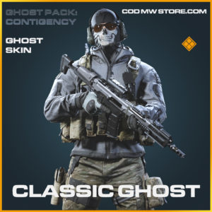 Classic Ghost skin legendary call of duty modern warfare warzone item