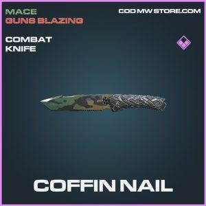 Coffin Nail combat knife epic call of duty modern warfare warzone item
