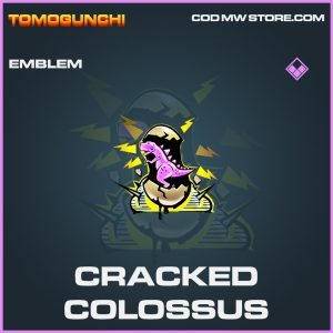 Cracked Colossus emblem epic call of duty modern warfare warzone item