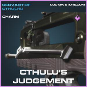 Cthulu's Judgement charm epic call of duty modern warfare warzone item