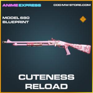 Cuteness Reload Model 680 legendary call of duty modern warfare warzone item