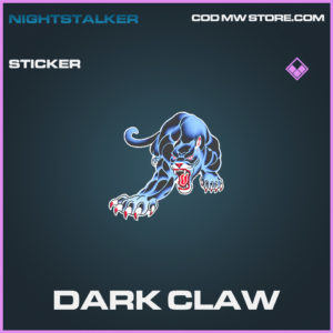 Dark Claw epic sticker call of duty modern warfare warzone item